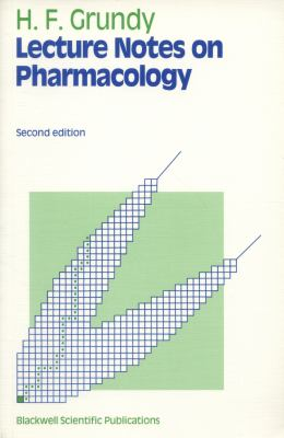 Lecture Notes on Pharmacology 9780632025589