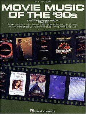 Movie Music of the '90s 9780634000102