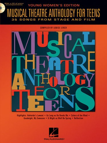 Musical Theatre Anthology for Teens: Young Women's Edition 9780634047633