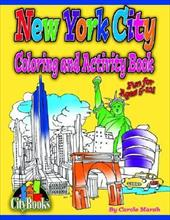 New York City Coloring & Activity Book 2374491