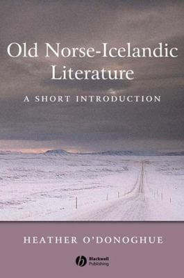 Old Norse-Icelandic Literature: A Short Introduction 9780631236269