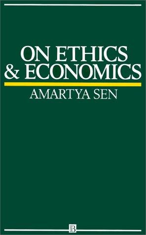 On Ethics and Economics 9780631164012