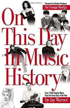 On This Day in Music History 9780634066931