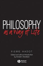 Philosophy as a Way of Life 2359687