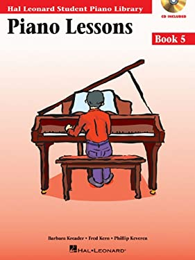 Piano Lessons, Book 5 [With CD (Audio)] 9780634031229