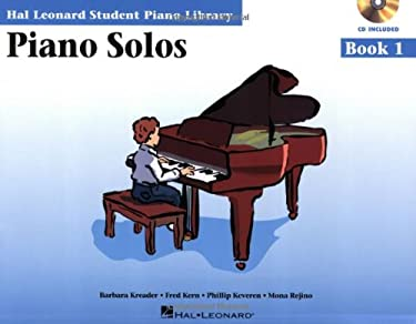 Piano Solos Book 1 - Book/CD Pack: Hal Leonard Student Piano Library 9780634089800
