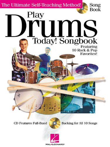 Play Drums Today! Songbook [With CD] 9780634028519