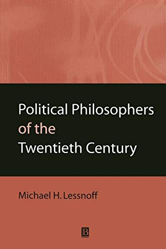 Political Philosophers of the Twentieth Centu 9780631202615