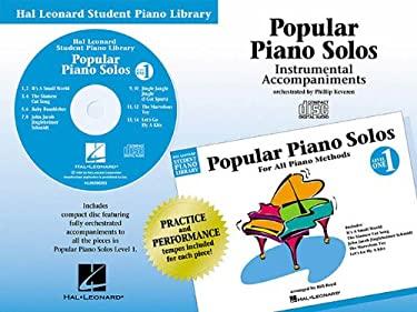 Popular Piano Solos - Level 1 - CD: Hal Leonard Student Piano Library 9780634002564