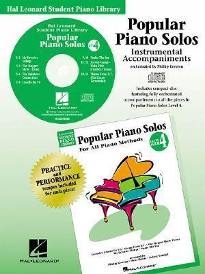 Popular Piano Solos - Level 4 - CD: Hal Leonard Student Piano Library 9780634002663