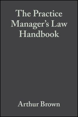 Practice Manager's Law Hn 9780632055494