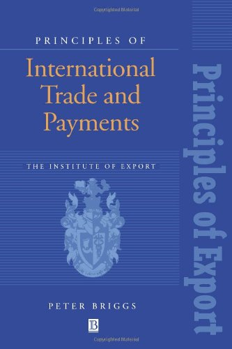 Principles of International Trade and Payments 9780631191636