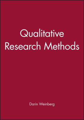 Qualitative Research Methods 9780631217626