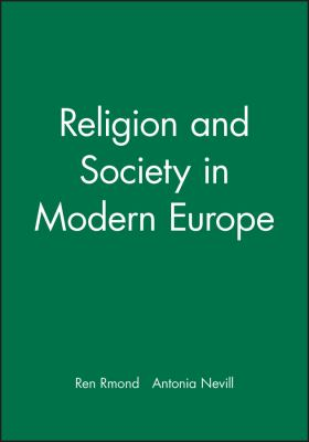 Religion and Society in Modern Europe 9780631208181