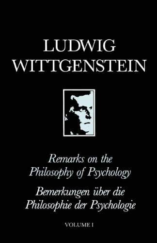 Remarks on the Philosophy of Psychology 9780631130611