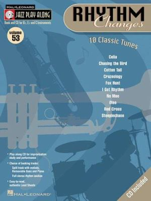 Rhythm Changes: Jazz Play-Along Volume 53 9780634090820