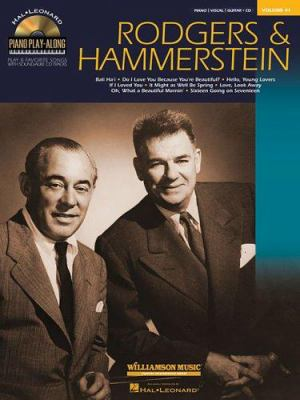 Rodgers & Hammerstein: Piano Play-Along Volume 41 [With CD] 9780634082733