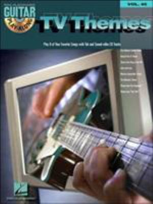 TV Themes: Guitar Play-Along Volume 45 9780634099304