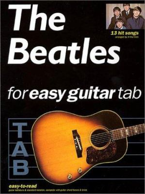 The Beatles for Easy Guitar Tab 9780634000065
