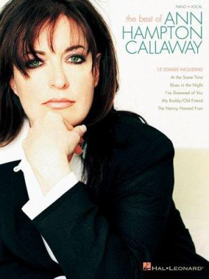 The Best of Ann Hampton Callaway 9780634080319