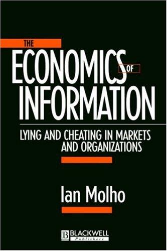 The Economics of Information 9780631206668