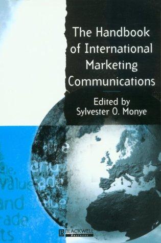The Handbook of International Marketing Communications 9780631200918