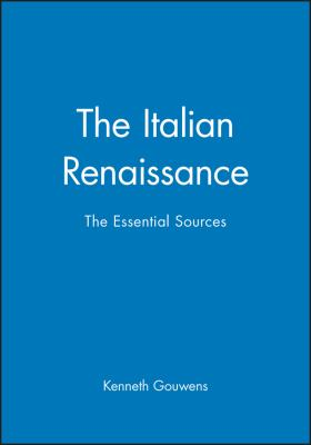 Italian Renaissance 9780631231653