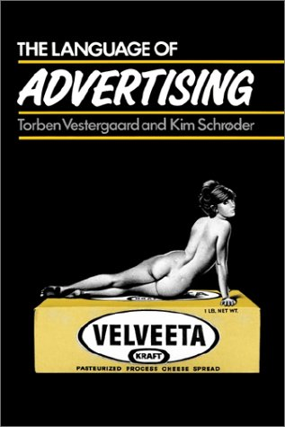 language of advertising The language of advertising the slogan this usually appears near the brand name and stands out from the rest of the copy in some way for example because of its size, typeface (font), position or colour.