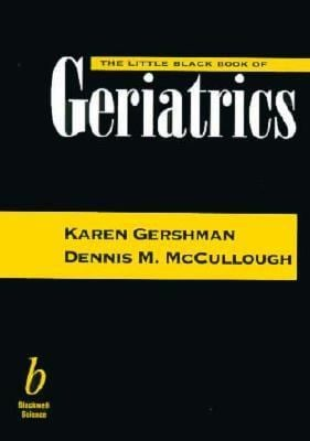The Little Black Book of Geriatrics 9780632043286