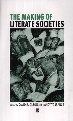 The Making of Literate Societies 9780631227434