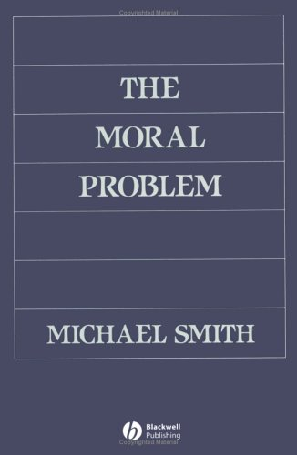 The Moral Problem 9780631192466