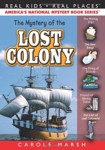The Mystery of the Lost Colony 9780635075956