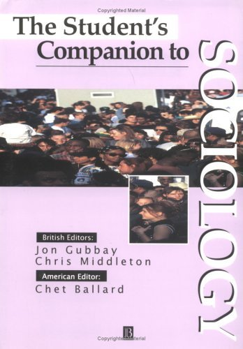 The Student's Companion to Sociology 9780631199489