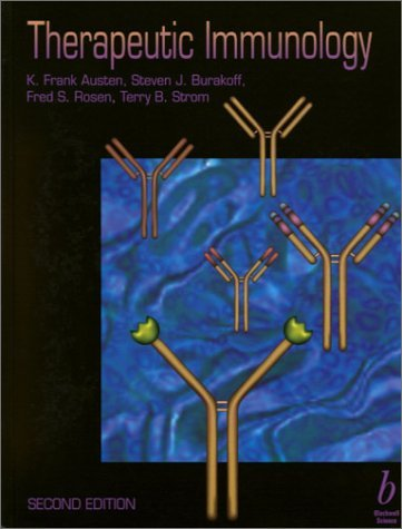 Therapeutic Immunology 9780632043590