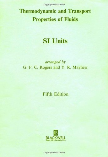 Thermodynamic and Transport Properties of Fluids 9780631197034