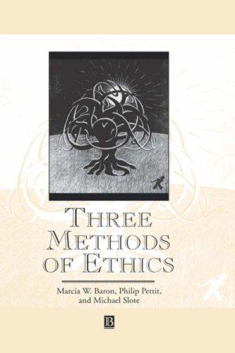 Three Methods of Ethics 9780631194347