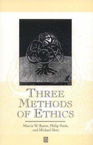 Three Methods of Ethics 9780631194354