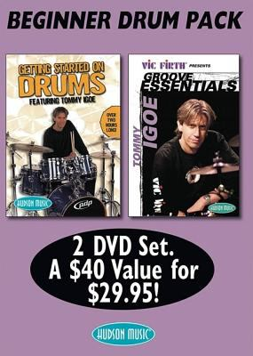 Tommy Igoe Bonus Pack: Groove Essentials and Getting Started on Drums 9780634097706