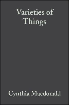 Varieties of Things: Foundations of Contemporary Metaphysics 9780631186953