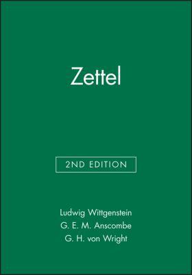Zettel 9780631128236