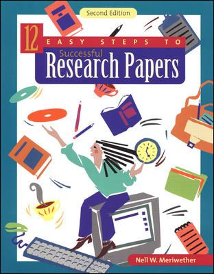 12 Easy Steps to Successful Research Papers 9780658001178