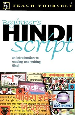 Teach Yourself Beginner's Hindi Script 9780658009105