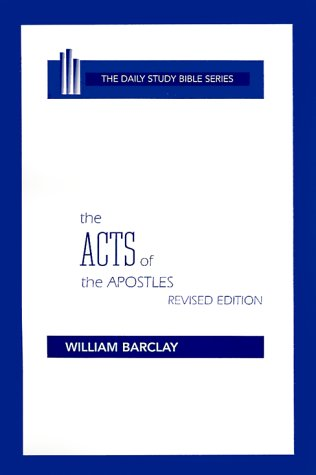 The Acts of the Apostles 9780664213060