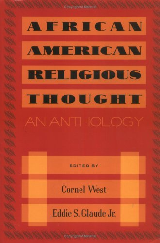 African American Religious Thought: An Anthology 9780664224592