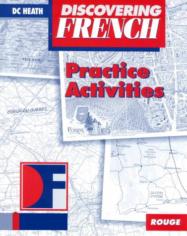 Discovering French, Rouge: Practice Activities 9780669435306