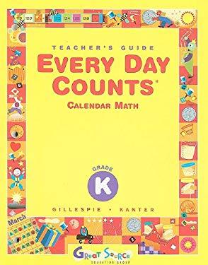 Every Day Counts Calendar Math, Grade K 9780669440966
