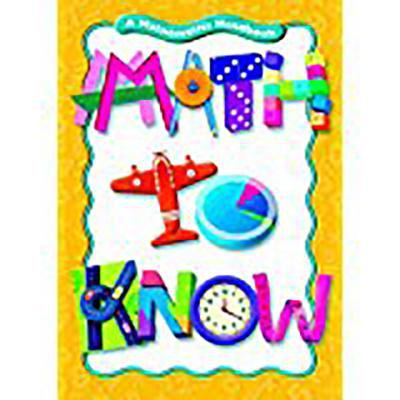 Great Source Math to Know: Student Edition 5 Pack Grade 3