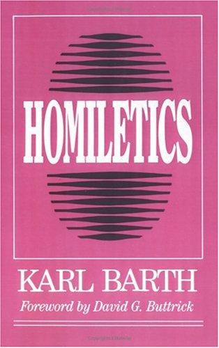 Homiletics 9780664251581
