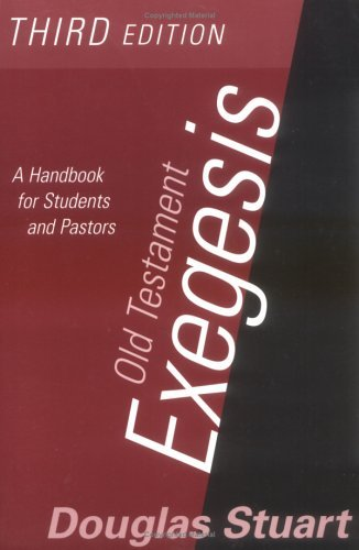 Old Testament Exegesis (T 9780664223151
