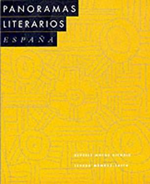 Panoramas Literarios: Espana 9780669218046